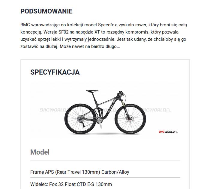 BMC speedfox SF02 29 XT – rower górski bez słabych punktów
