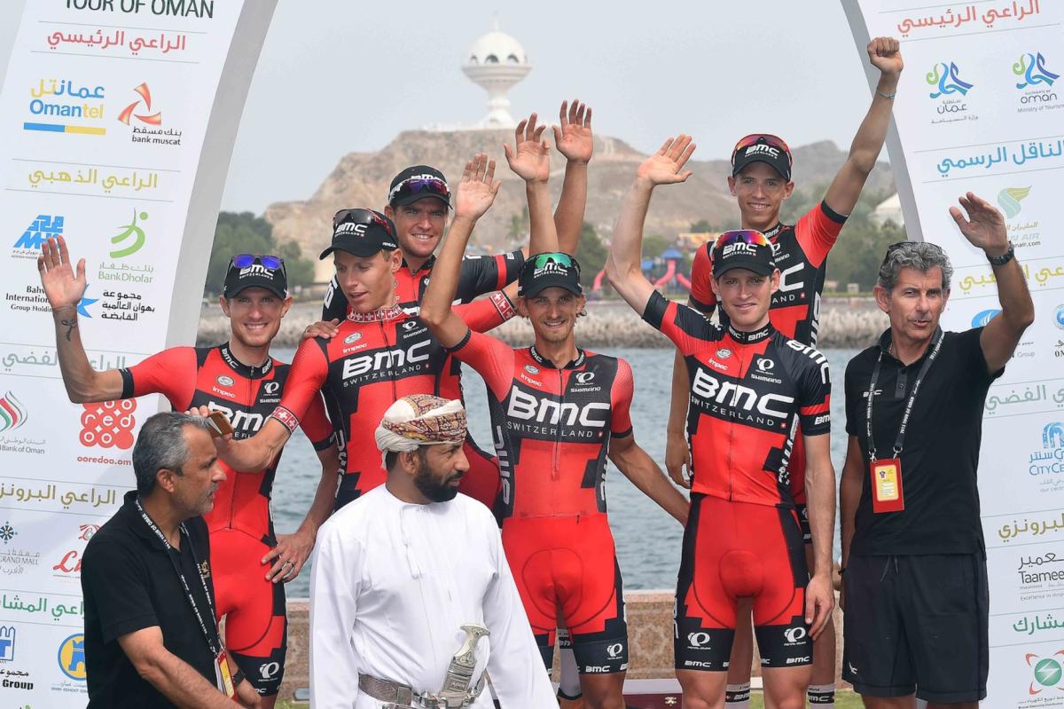 BMC Racing Team wygrywa Tour of Oman