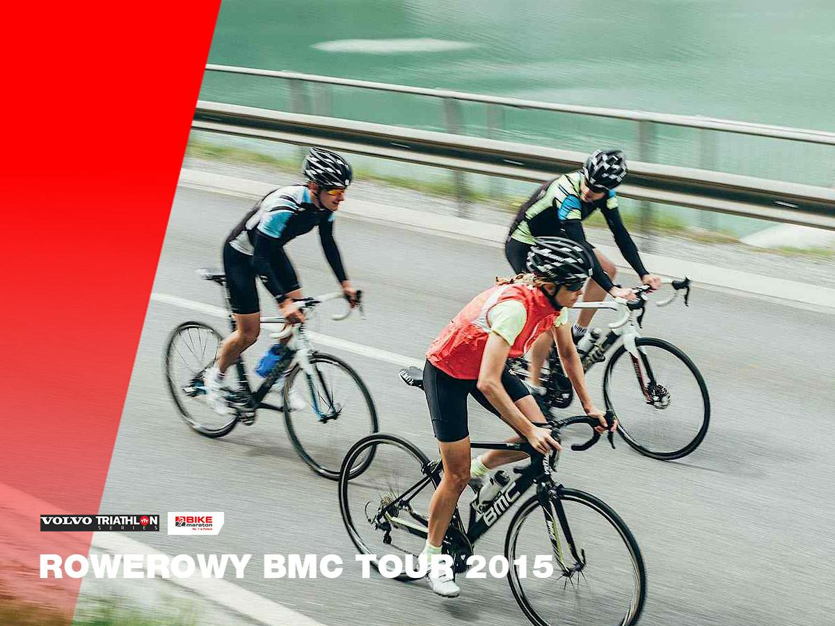 Informacja prasowa: Rowerowy BMC Tour 2015