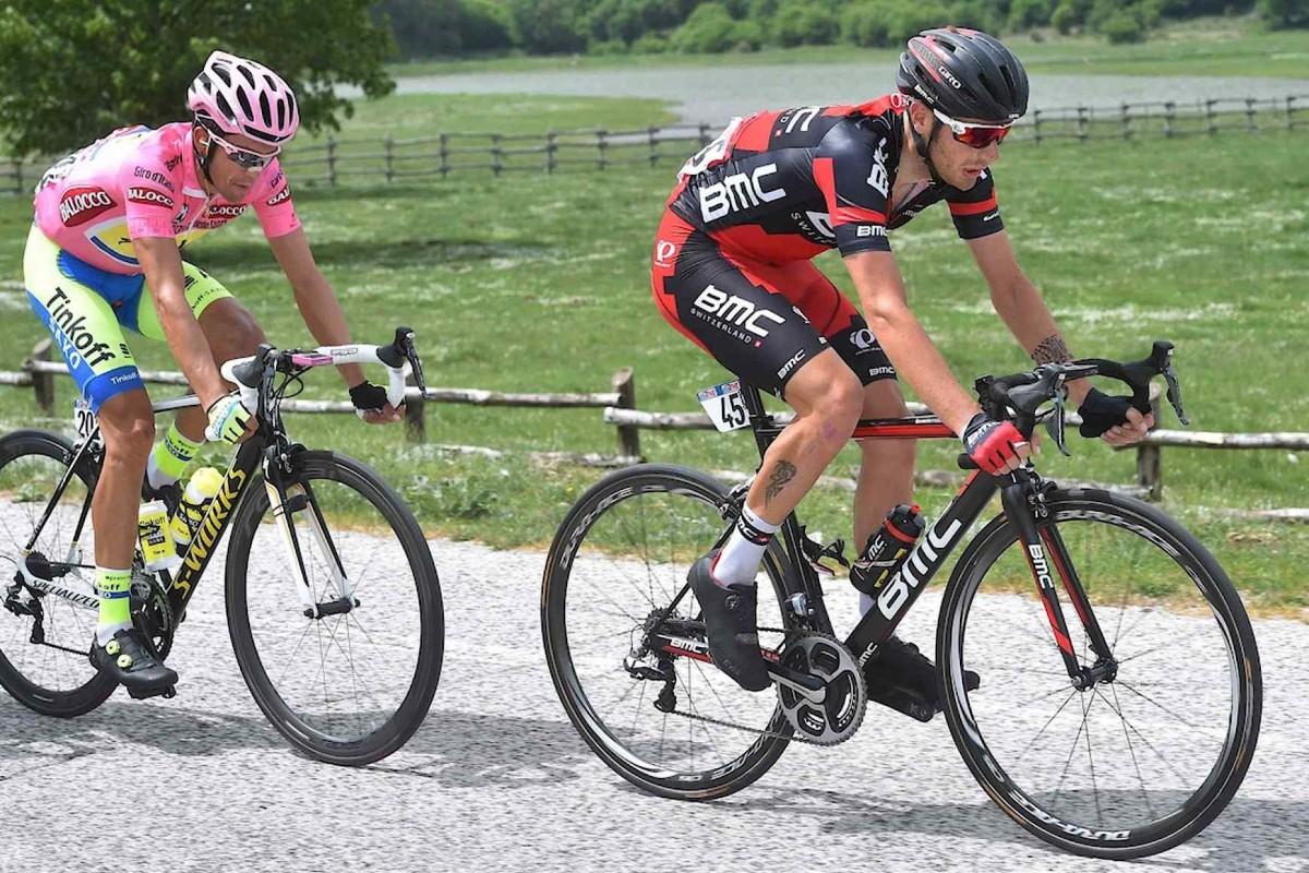 Giro d'Italia 2015: Caruso i Gilbert wykonali plan