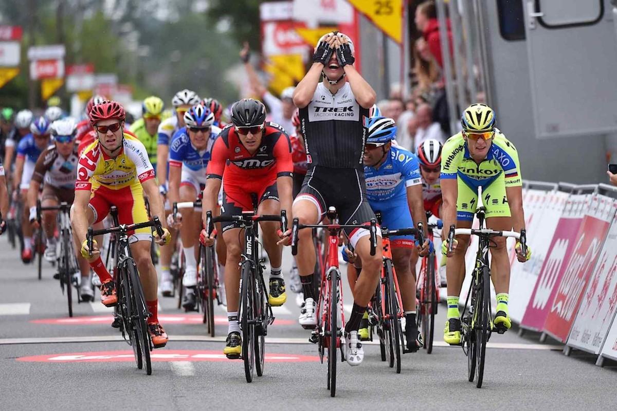 Tour de Wallonie, etap II: Burghardt na 3. pozycji