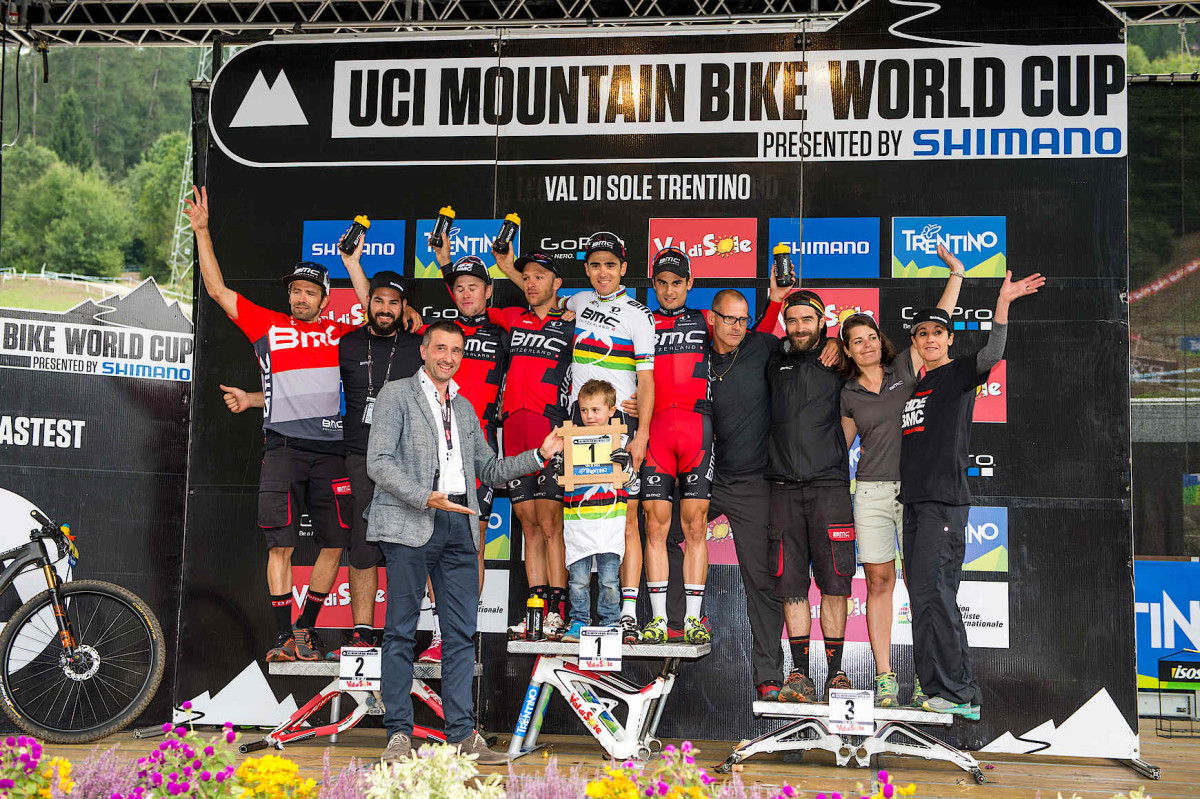 Drużyna BMC wygrywa Puchar Świata UCI w kolarstwie górskim