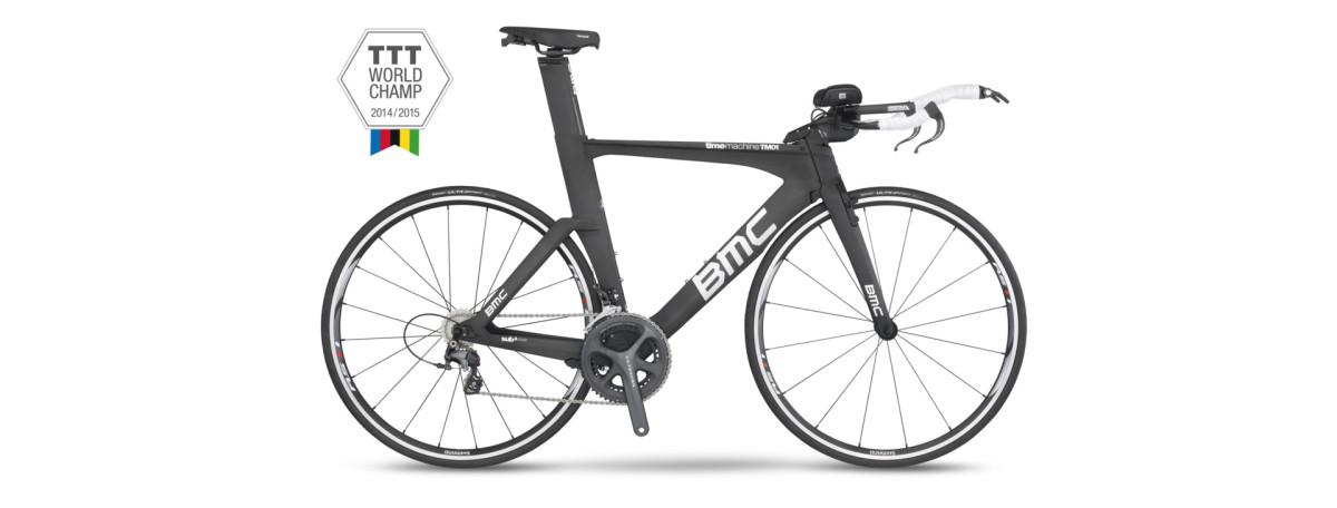 BMC timemachine TM01, czyli najszybszy rower świata
