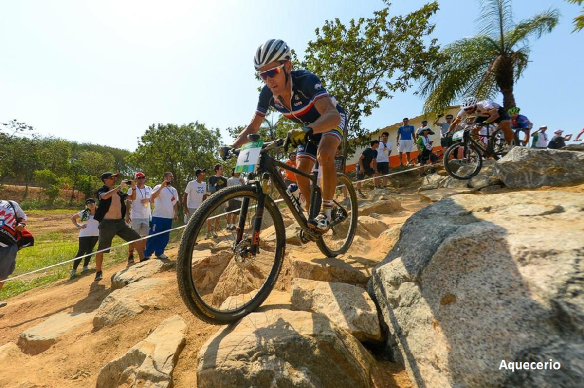 Julien Absalon przetestował olimpijską trasę