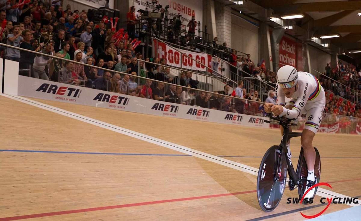 Stefan Küng mistrzem Europy w kolarstwie torowym