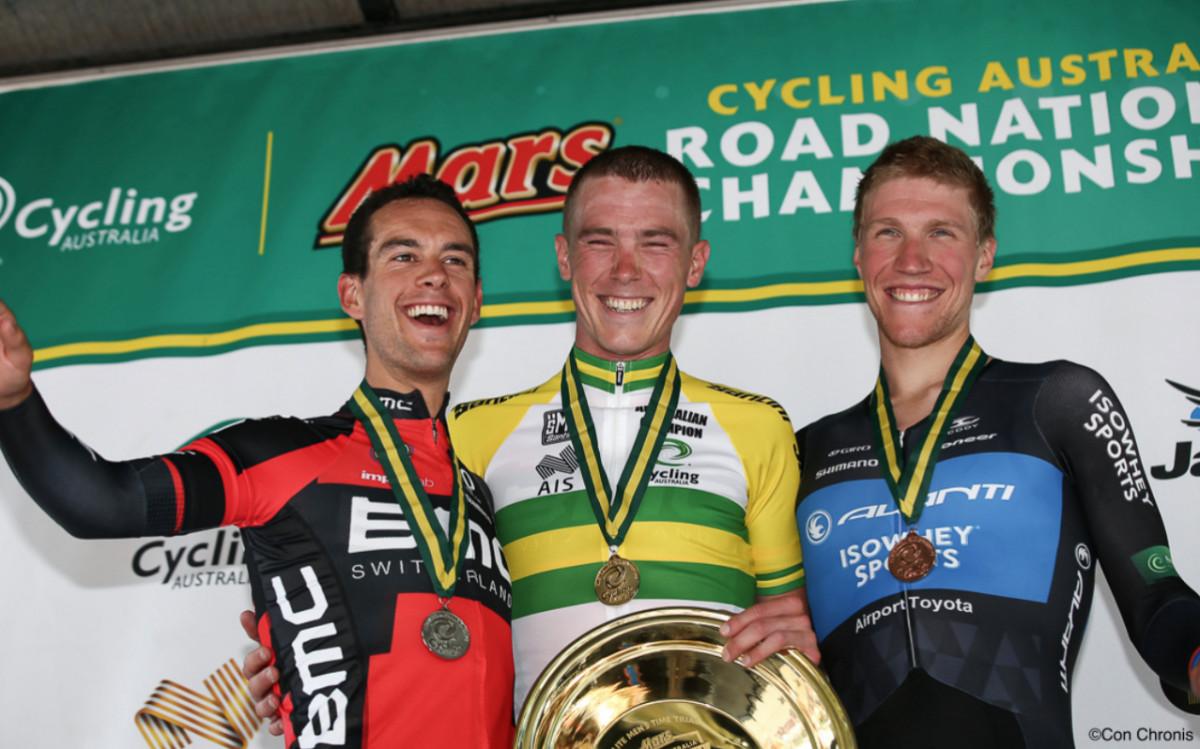 Indywidualna jazda na czas – Dennis i Porte na podium mistrzostw Australii