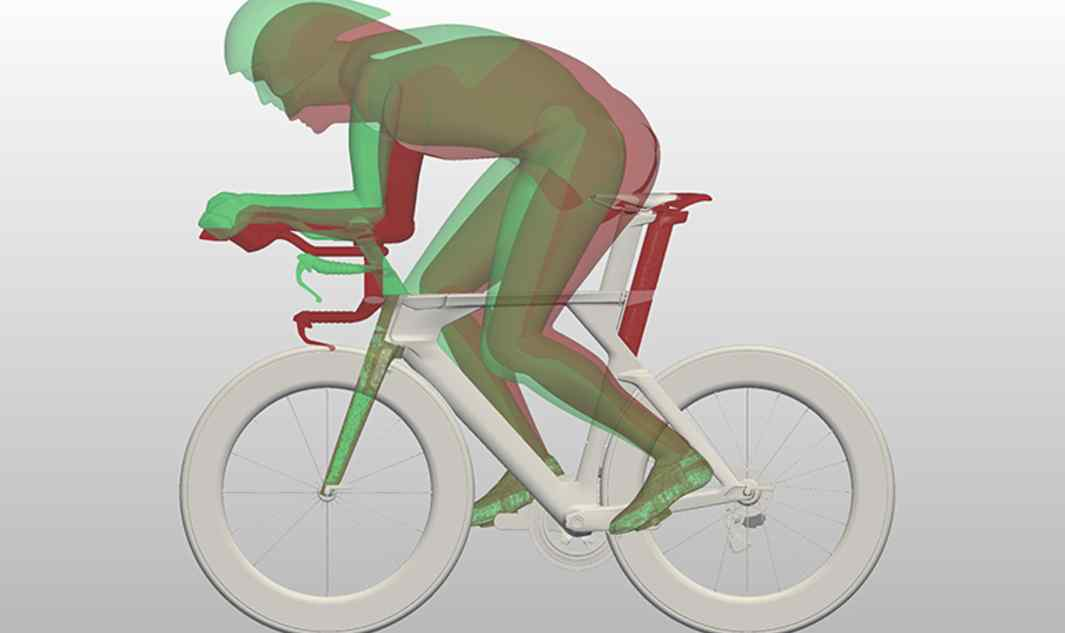 Rider definition  Including both the rider and the appropriate position are critical to real-world aerodynamic performance. Throughout the study, standard triathlon and time-trial positions are simultaneously evaluated.