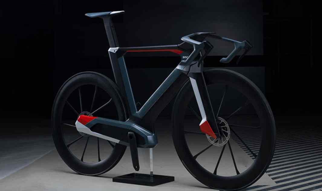 Koncepcyjny rower Impec Lab, który został zaprezentowany podczas targów Eurobike 2015 – zmodularyzowany i zintegrowany model, który pokazuje przyszłość kolarstwa szosowego.