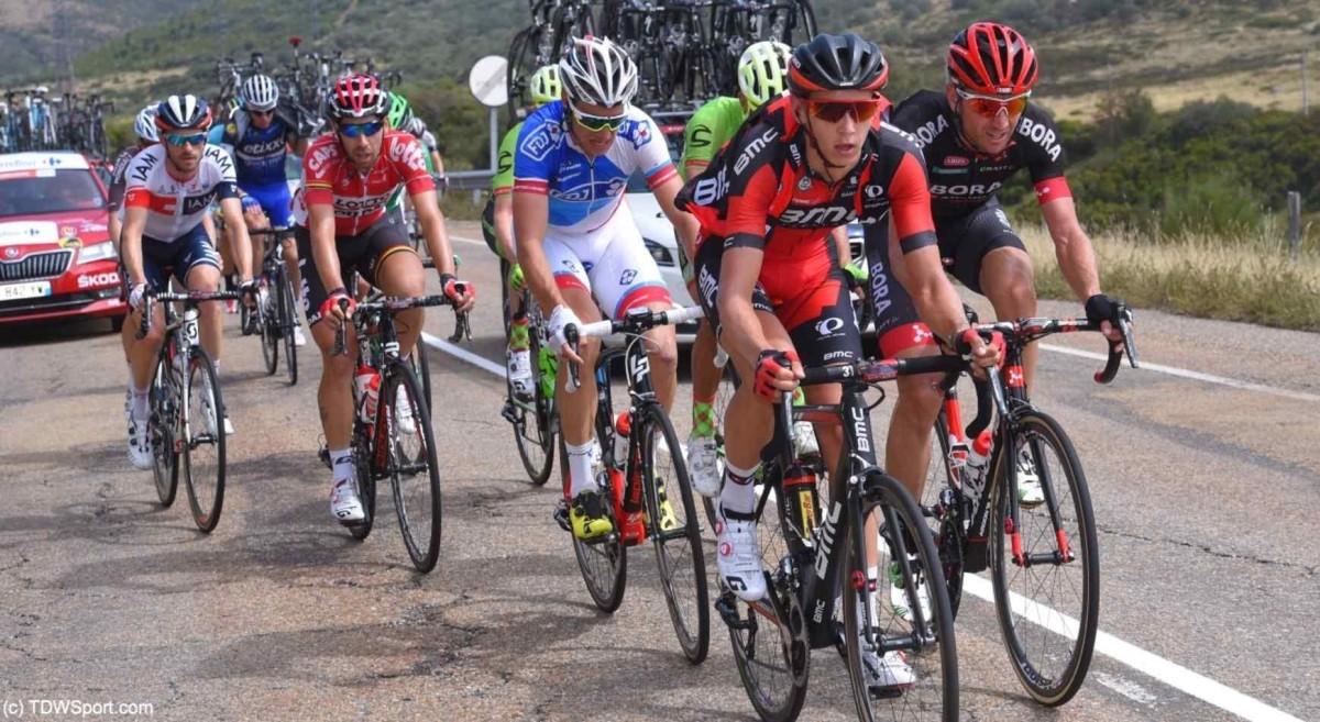 Vuelta a España, etap IX: Teuns w pierwszej dziesiątce
