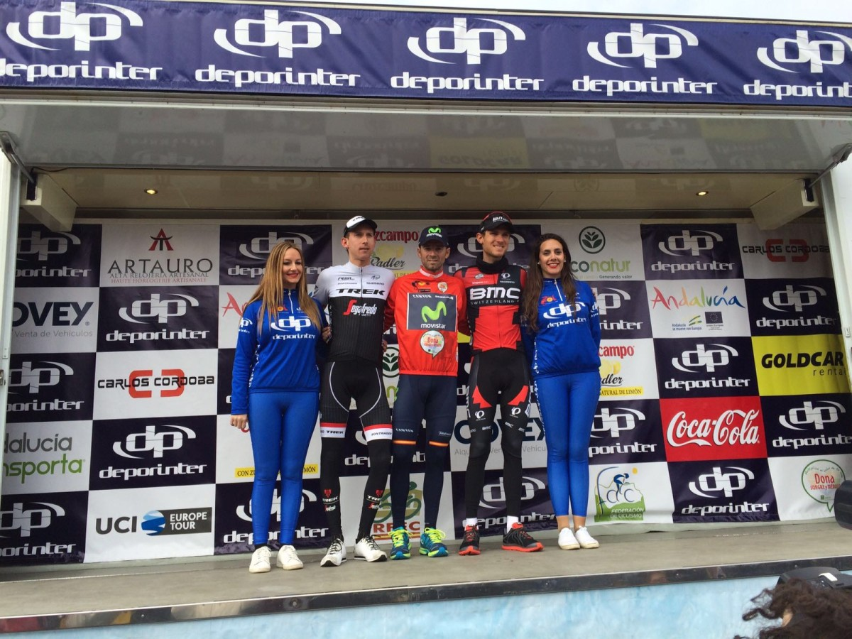 Van Garderen na podium Ruta Del Sol