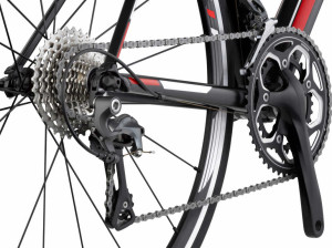 Rower szosowy BMC teammachine ALR01 Ultegra 04 (mat. pras.)