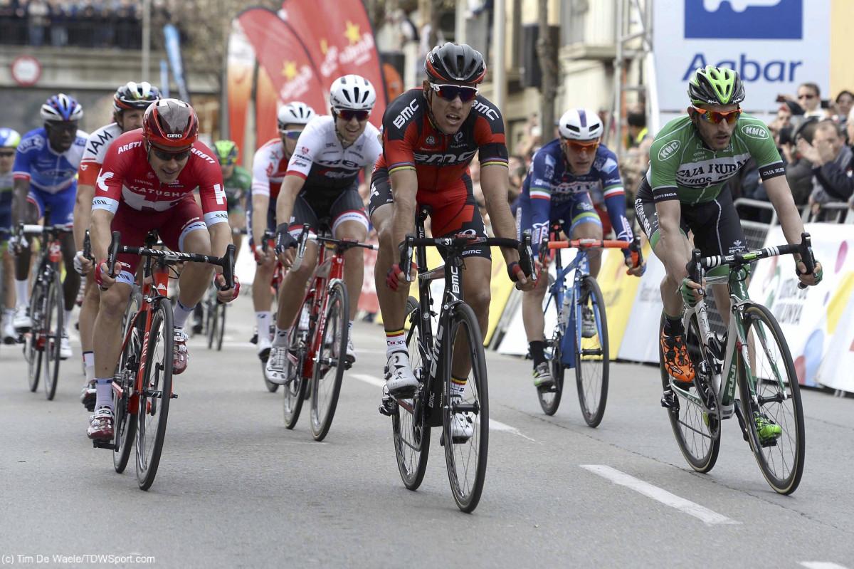 Volta a Catalunya, etap II: Gilbert na podium