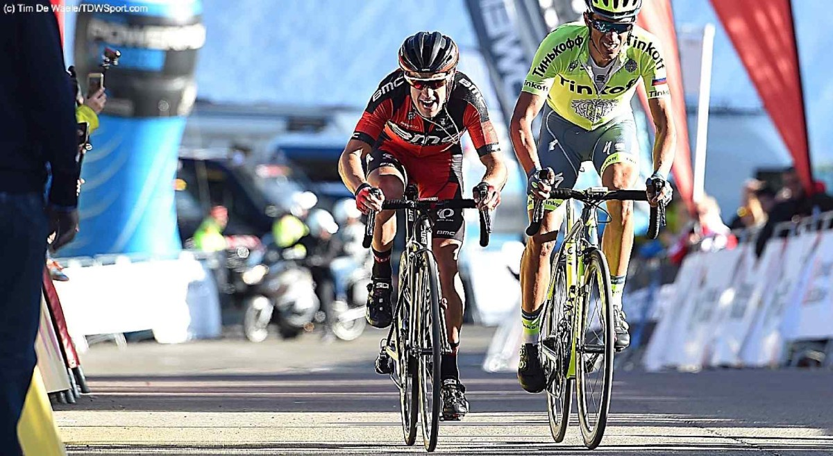 Volta a Catalunya, etap IV: Porte na 3. pozycji