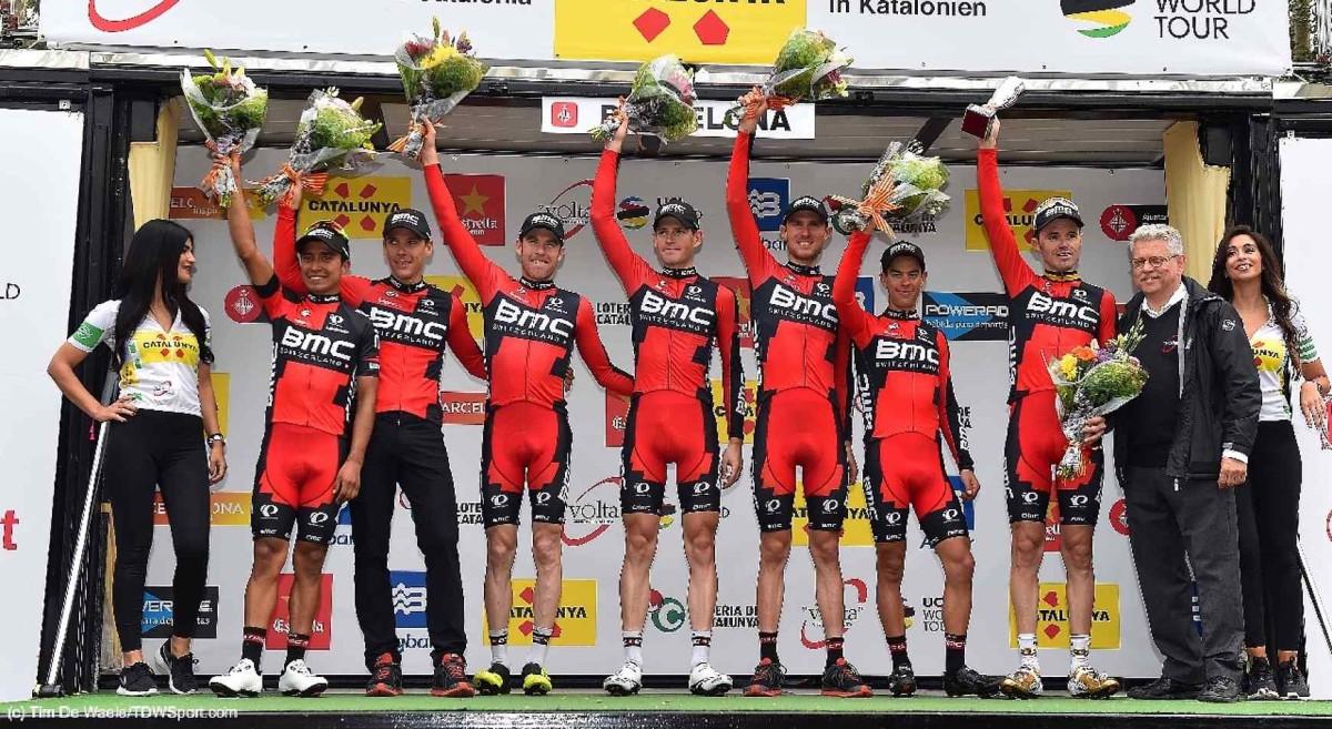 BMC Racing Team wygrywa klasyfikację drużynową Volta a Catalunya
