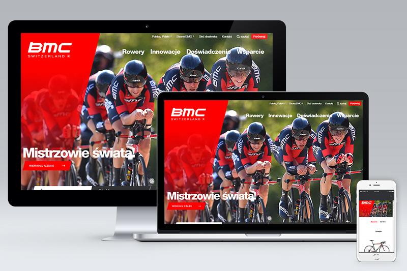 Nowa strona internetowa marki BMC