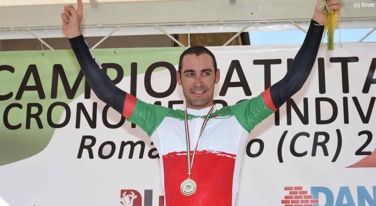 Manuel Quinziato mistrzem Włoch w jeździe na czas