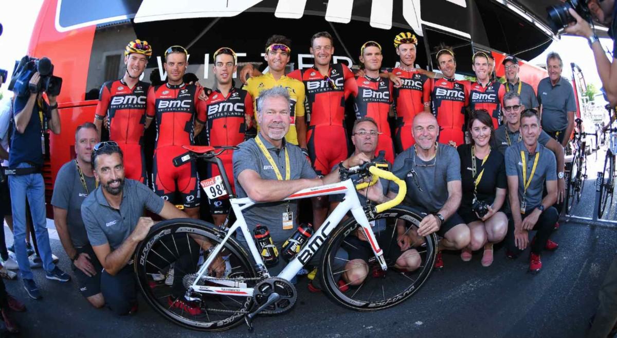 Tour de France, etap XXI: Porte w pierwszej piątce