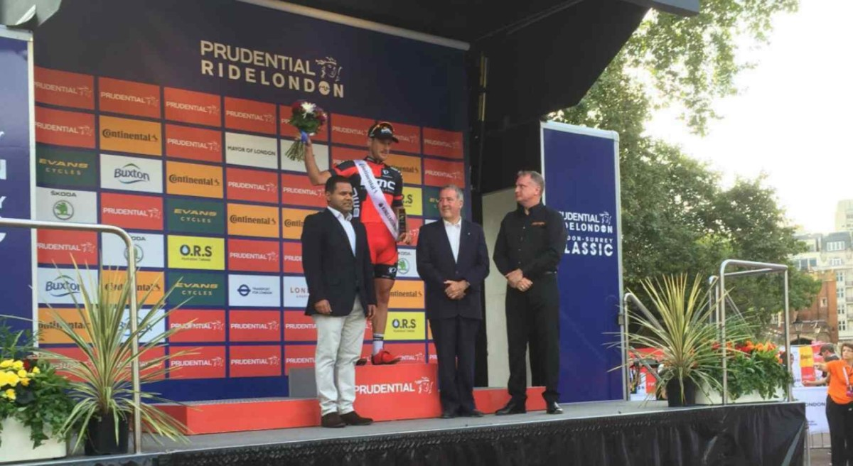Gerts wysoko w Prudential RideLondon-Surrey Classic