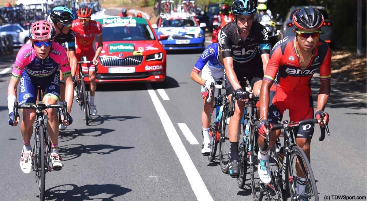 Vuelta a España, etap XII: Dillier na 9. miejscu
