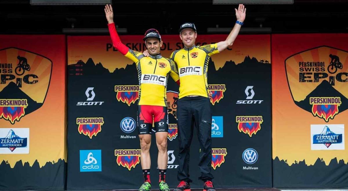 Reto Indergand i Lukas Flückiger wygrywają Swiss Epic