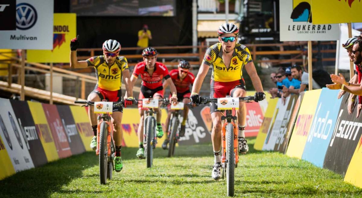 Drużyna BMC kontynuuje zwycięską passę w Swiss Epic