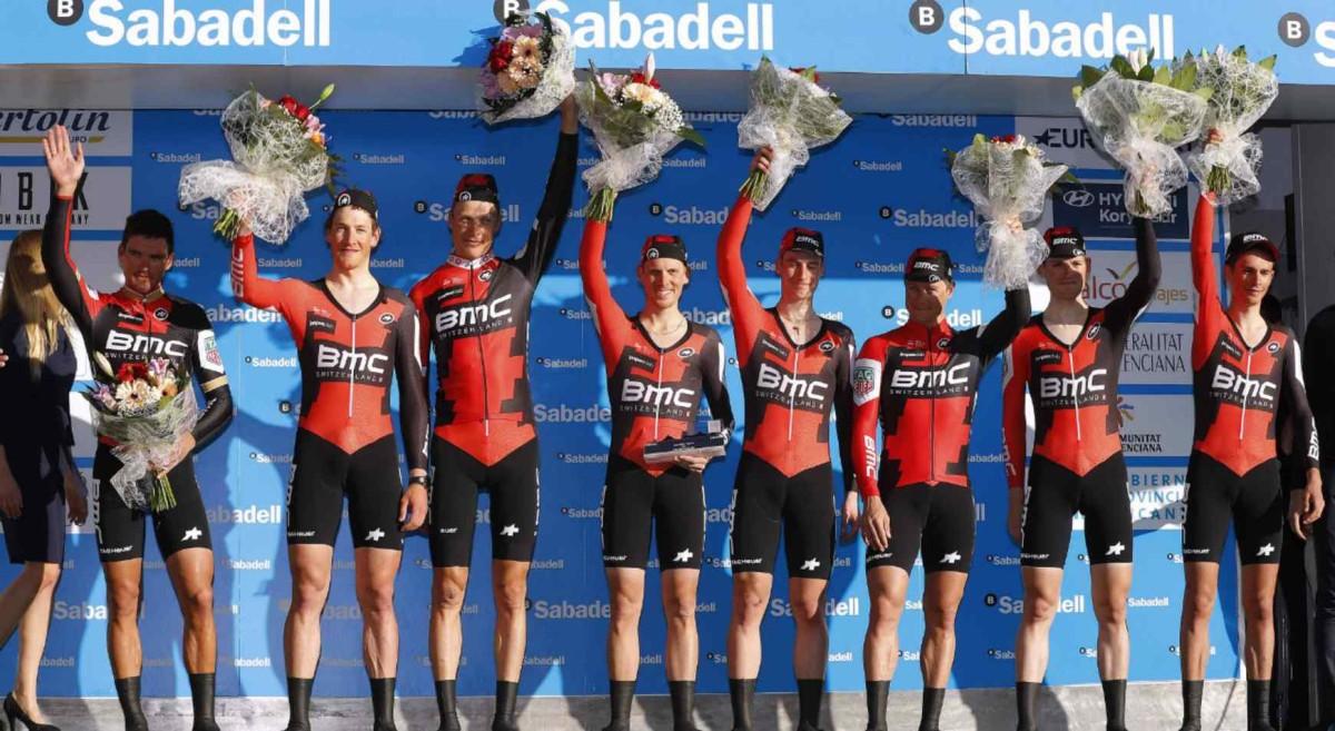 Volta a la Comunitat Valenciana, etap I: Dominacja drużyny BMC