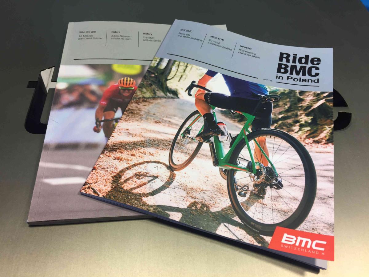 """Premiera """"Ride BMC in Poland"""". Nowy magazyn już do pobrania"""