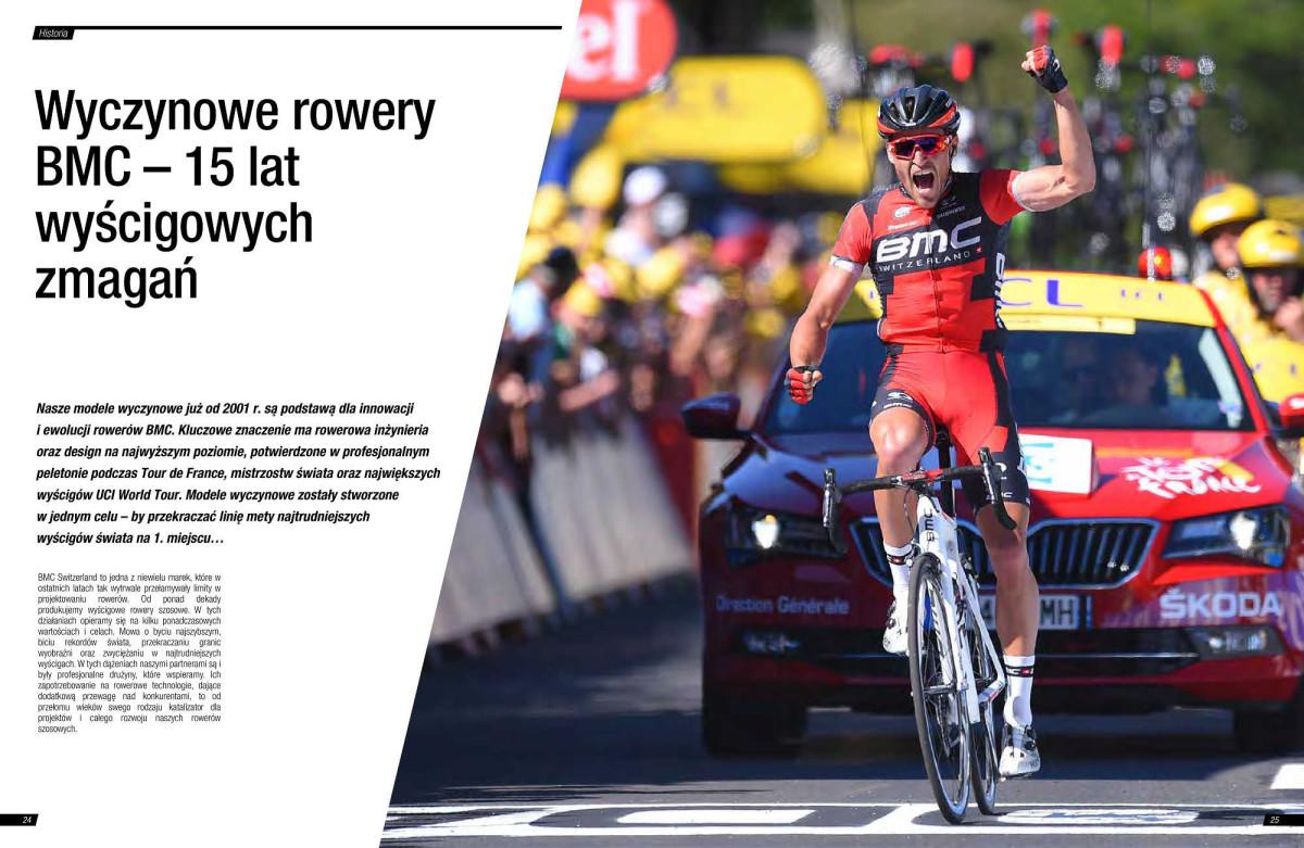 Wyczynowe rowery BMC – 15 lat wyścigowych zmagań