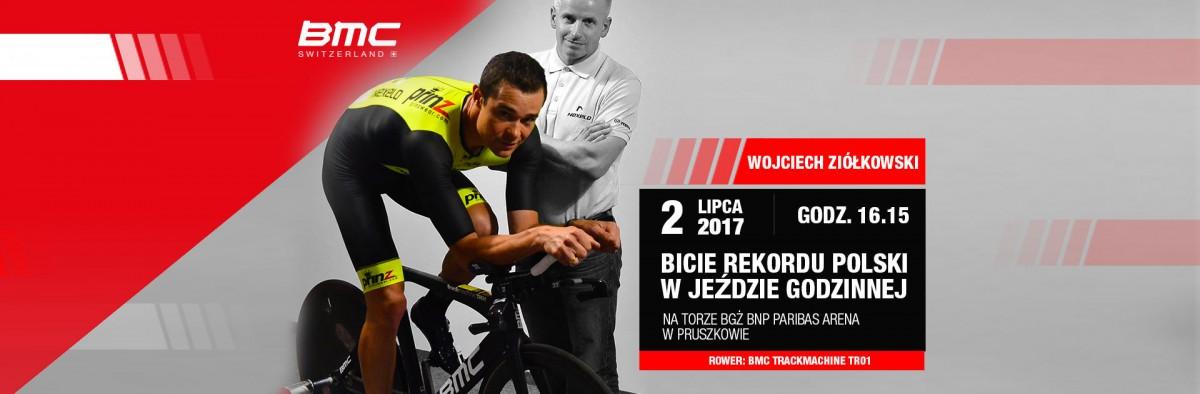 Wojciech Ziółkowski spróbuje pobić rekord Polski w jeździe godzinnej