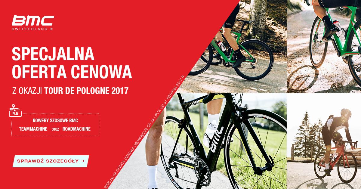 Rowery szosowe BMC – oferta specjalna z okazji TdP 2017