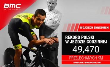 www Nowy rekord Polski w jeździe godzinnej