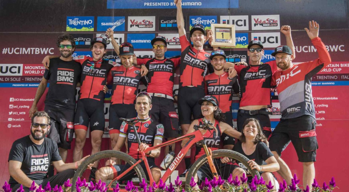 BMC wygrywa drużynową klasyfikację Pucharu Świata UCI MTB