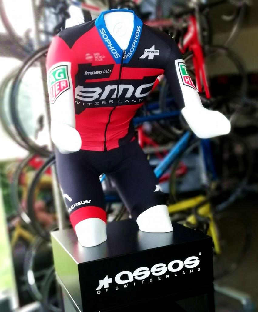 Kompletny strój kolarski BMC Racing Team