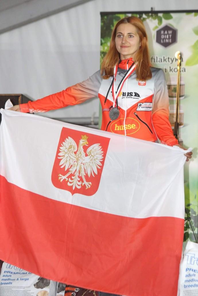 Agnieszka Jarecka wicemistrzynią świata ICF 2018 02