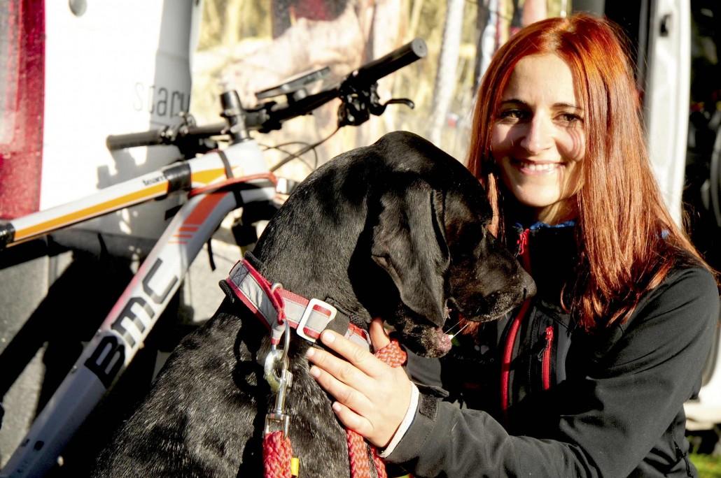 Agnieszka Jarecka ze srebrnym medalem mistrzostw Europy w bikejoringu 2018 01