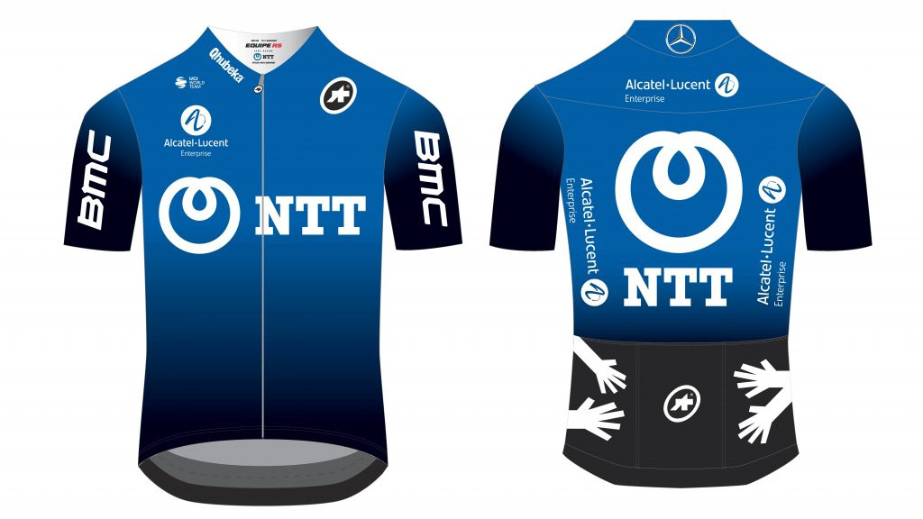 Team Dimension Data zmienia się w NTT Pro Cycling