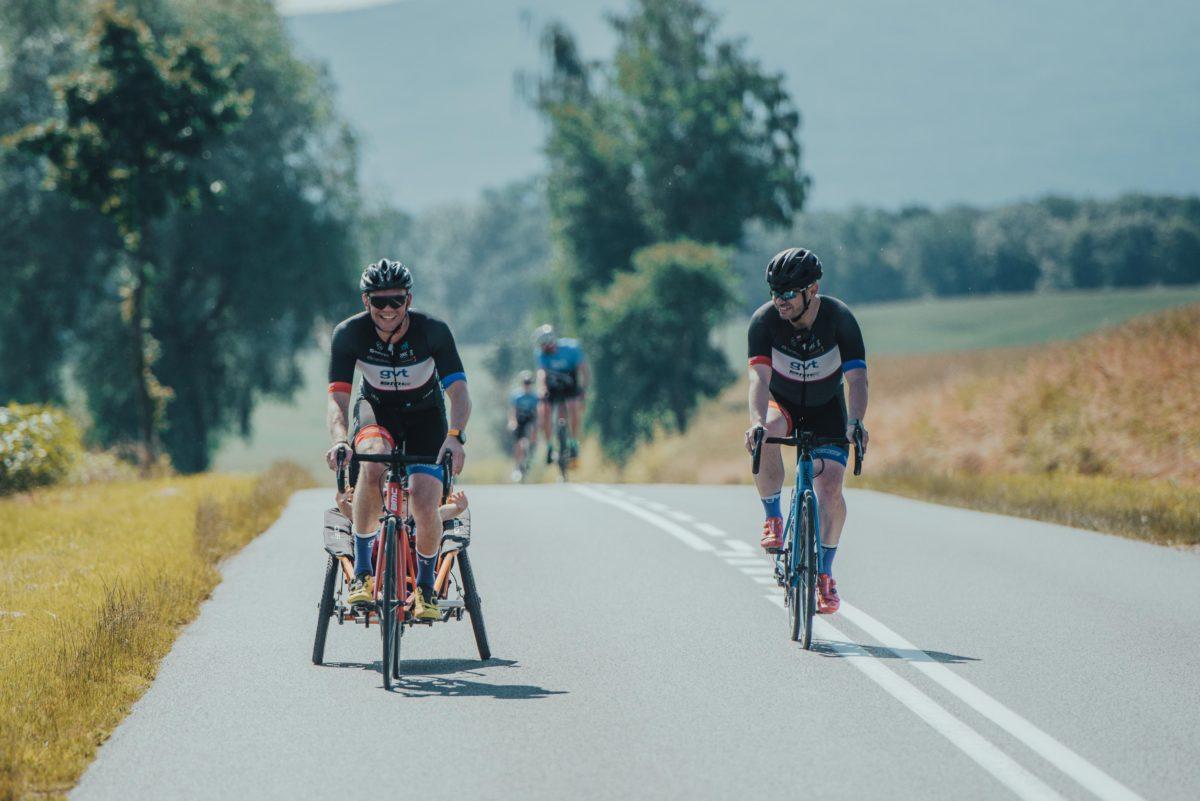 Ponad 600 kilometrów trasy na rowerze w szczytnym celu